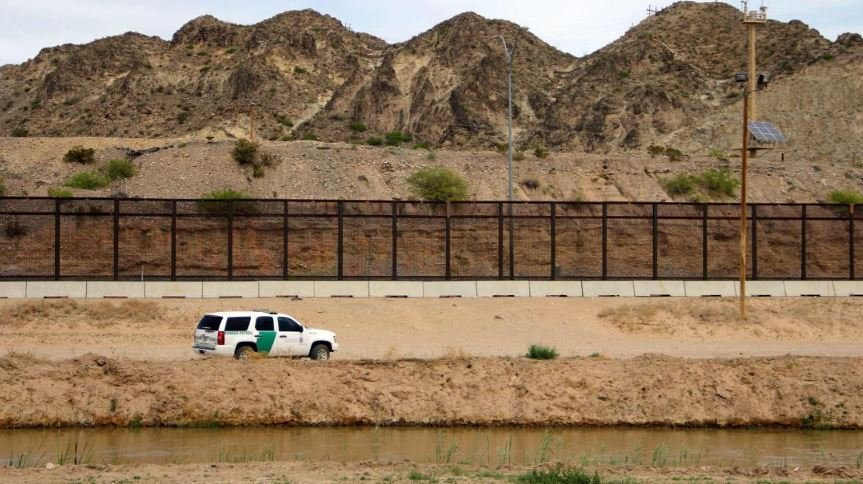 muro de trump en la frontera