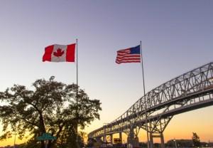 frontera canadá