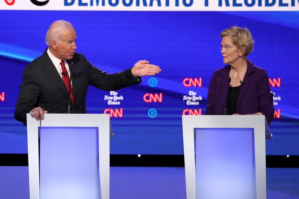 Elizabeth Warren fue centro de atención en cuarto debate demócrata