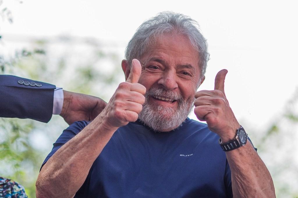 Sale de prisión en Brasil el expresidente Lula da Silva