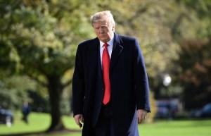 Trump guarda silencio ante ataque con misiles de Irán