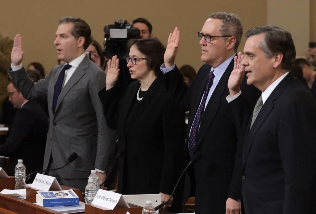 Expertos legales: conducta de Trump es motivo para destituirlo
