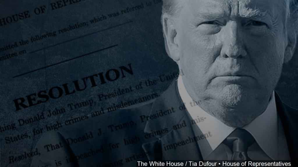 """El """"impeachment"""" contra Donald Trump en 5 puntos"""