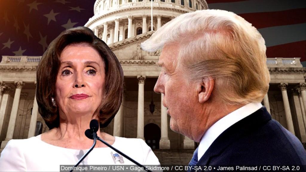 "Ante inminente juicio del ""impeachment"", Trump arremete contra Pelosi"