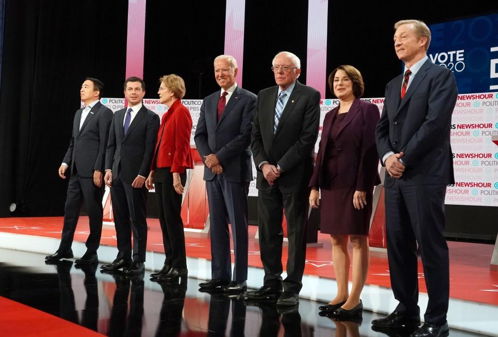 Fuego cruzado entre candidatos en último debate demócrata de 2019