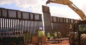 Gobierno demanda a grupo privado que construye muro en Texas