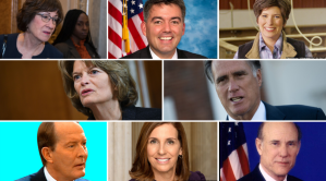 """8 senadores republicanos que podrían romper filas en el """"impeachment"""""""