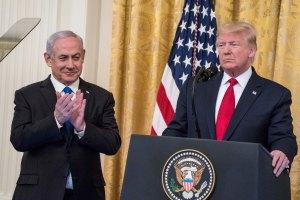 Trump anuncia con Israel un plan de paz para Medio Oriente