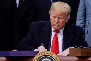 Trump firma nuevo acuerdo comercial de EE.UU., México y Canadá