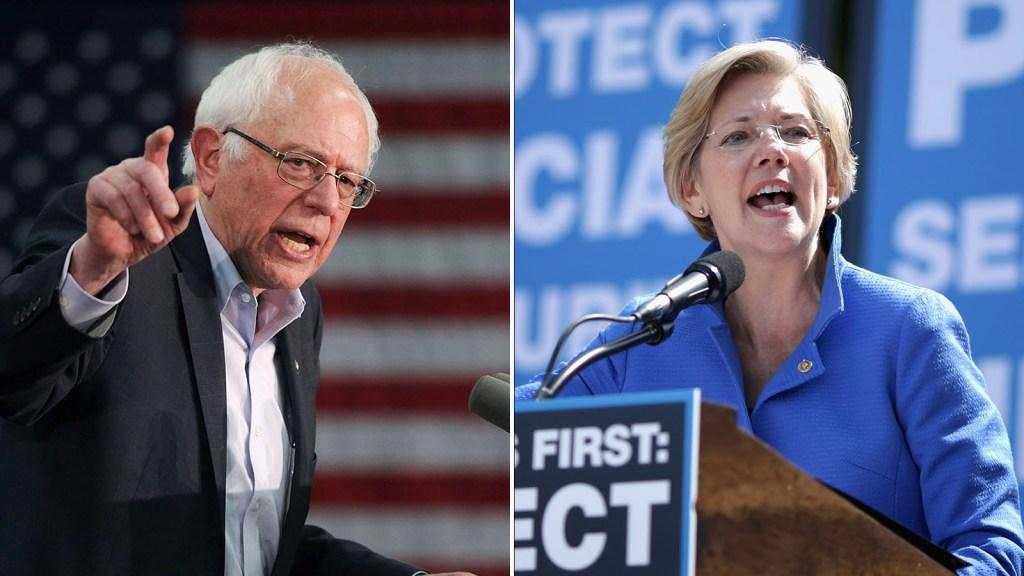 Elizabeth Warren y Bernie Sanders se pelean antes de debate demócrata