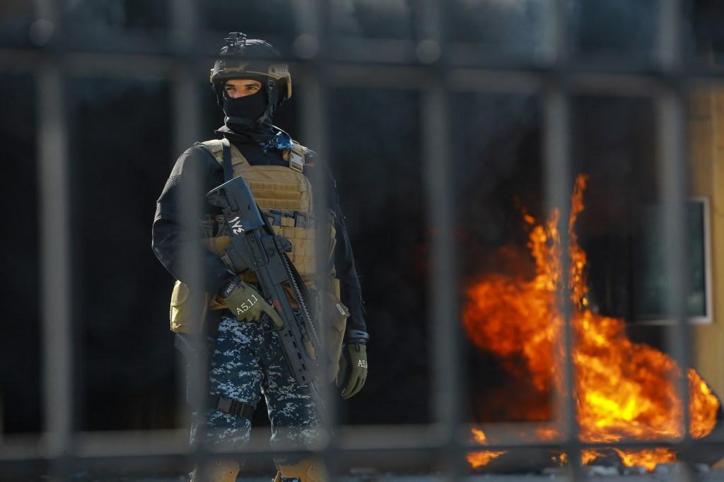 2 cohetes impactan la Zona Verde en Bagdad a un día del ataque de Irán
