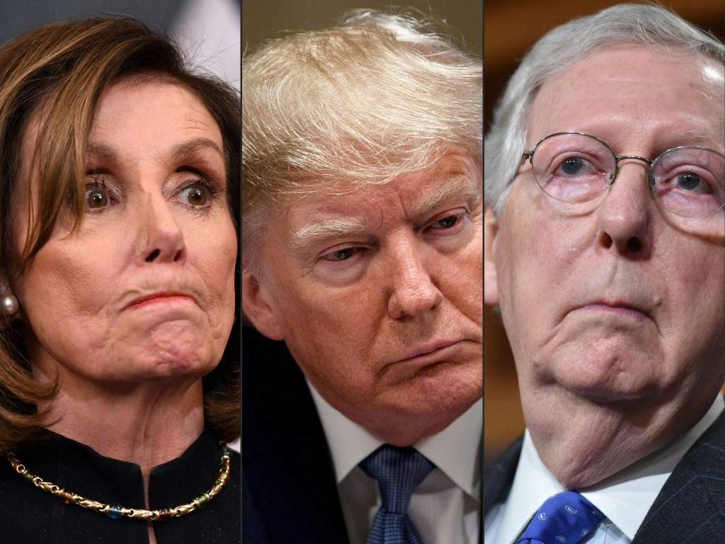 """Republicanos del Senado planean un """"impeachment"""" rápido y acelerado"""