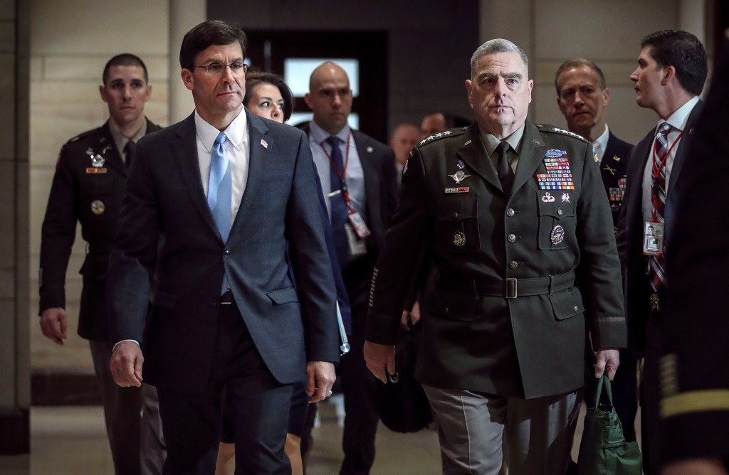 Jefe del Pentágono de Trump lo contradice sobre ataque en Bagdad