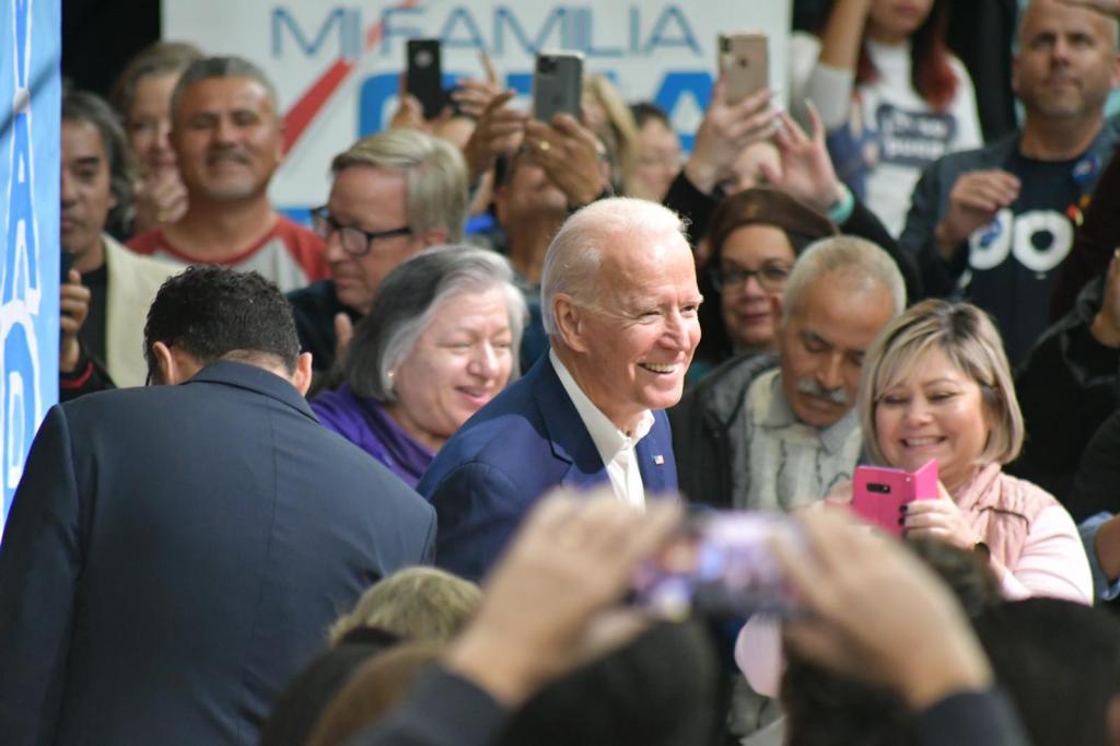 Precandidatos presidenciales demócratas se reunen en Las Vegas