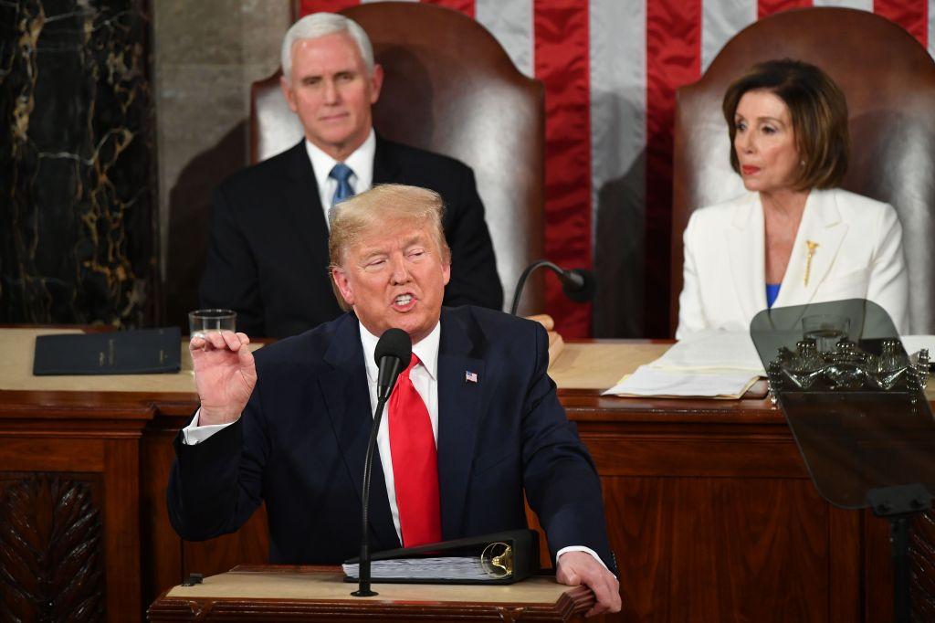 Trump usa parte del Estado de la Unión para atacar inmigrantes