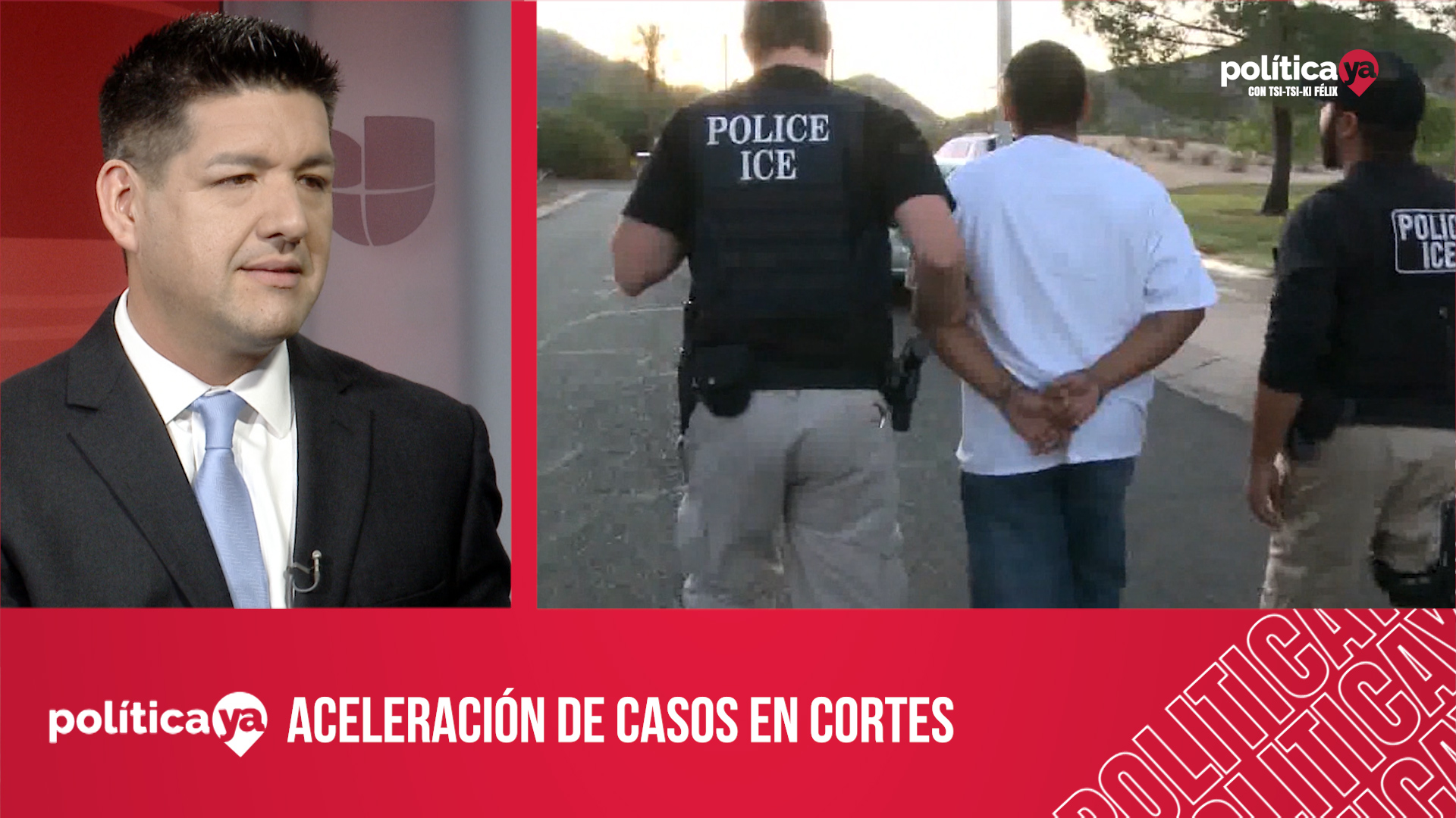 Beneficios o daños de la aceleración de casos en cortes de inmigración del país