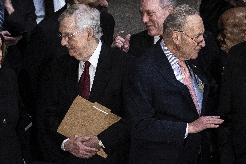 Enfrentamiento en el Senado por el billonario paquete de estímulo