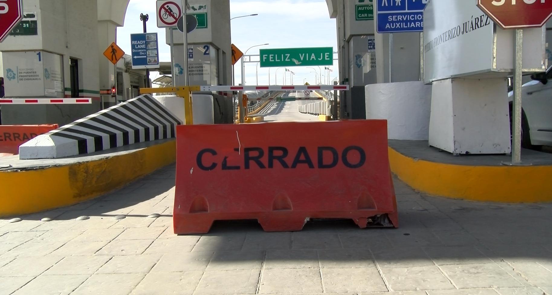 Estados Unidos y México extienden el cierre parcial de la frontera
